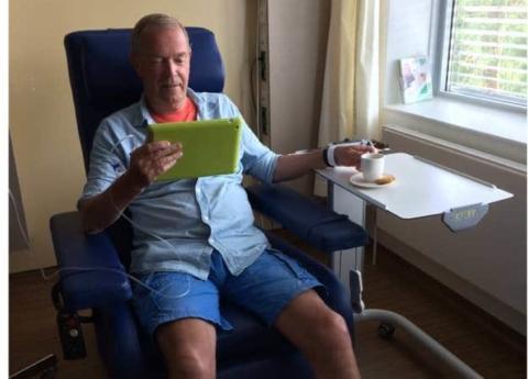 Nieuwsbericht: Dagbehandelcentrum Oncologie en Hematologie GHZ gebruikt ook GHZ App